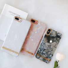 Phnom Penh marble iphone shell Epoxy creative X/8/6/7 plus protective case