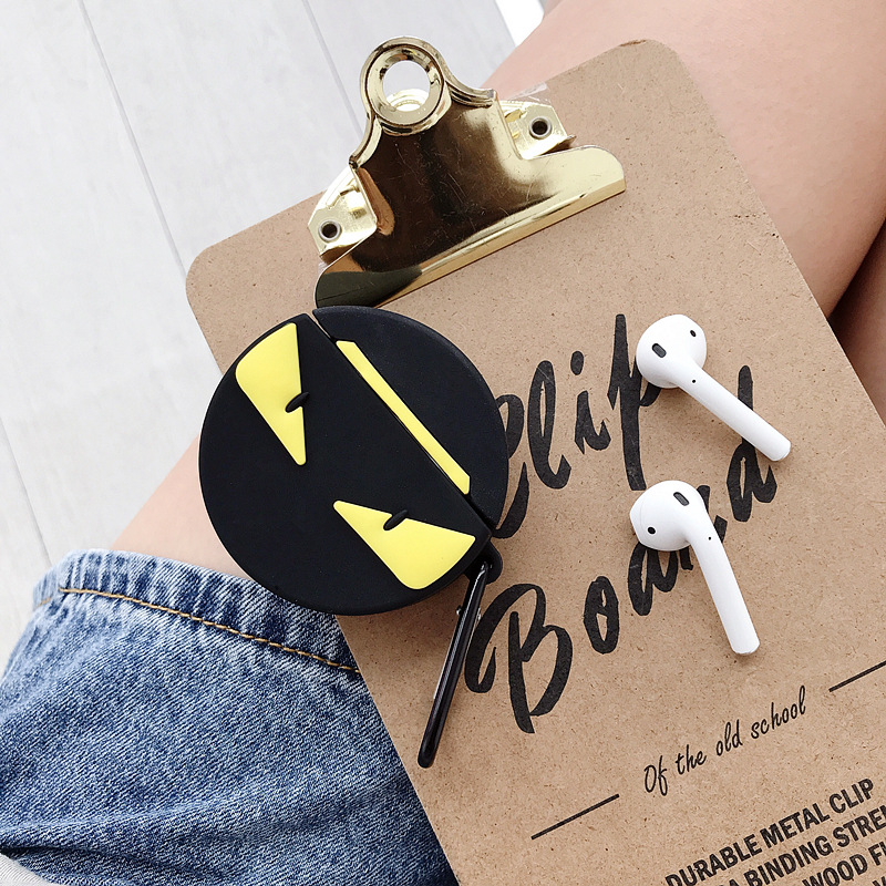 Fendi  Monster AirPods Case 3D Cartoon Soft Silicone Shockproof Shell