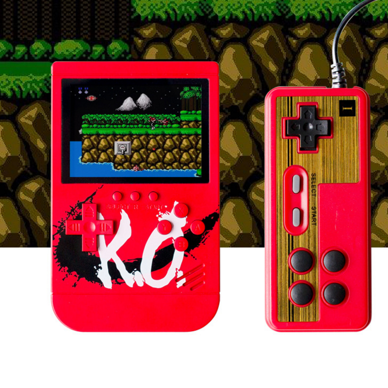 Classic mini handheld game console nostalgic vibrating charging mobile power machine