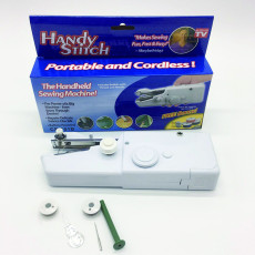 Handheld portable electric sewing machine handy stitch -- As seen on TV