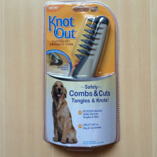 Knot out dog shaving electric pet shaving shears-- As seen on TV