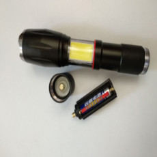 Bell howell taclight elite glare LED flashlight 40X retractable flashlight -- As seen on TV