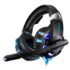 ONIKUMA K2 gaming headset 3.5 channel lighting computer esports game accessories