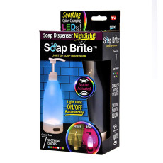Soap Brite Induction Soap Dispenser Night Light New TV Products