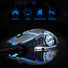 Mechanical gaming mouse macro programming esports mouse cool style computer accessories
