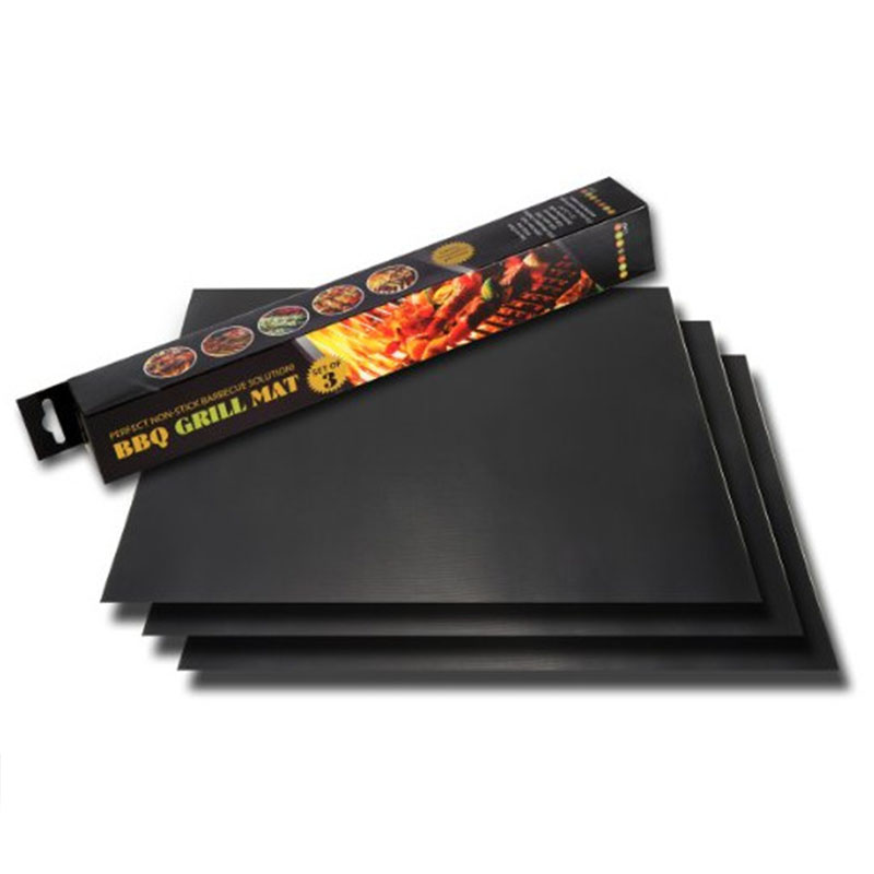 BBQ Grill Mat Non-stick Baking Pad FDA LFGB Certification --As seen on TV