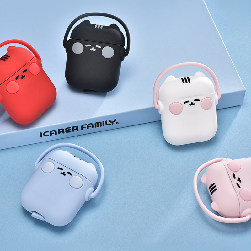 cartoon Smiling doll AirPods case Creative Apple Wireless Headphone Case