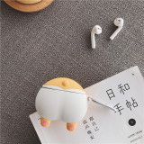 Cute Corgi Ass Airpods Pro case Apple 3rd Generation Bluetooth Headset Cover