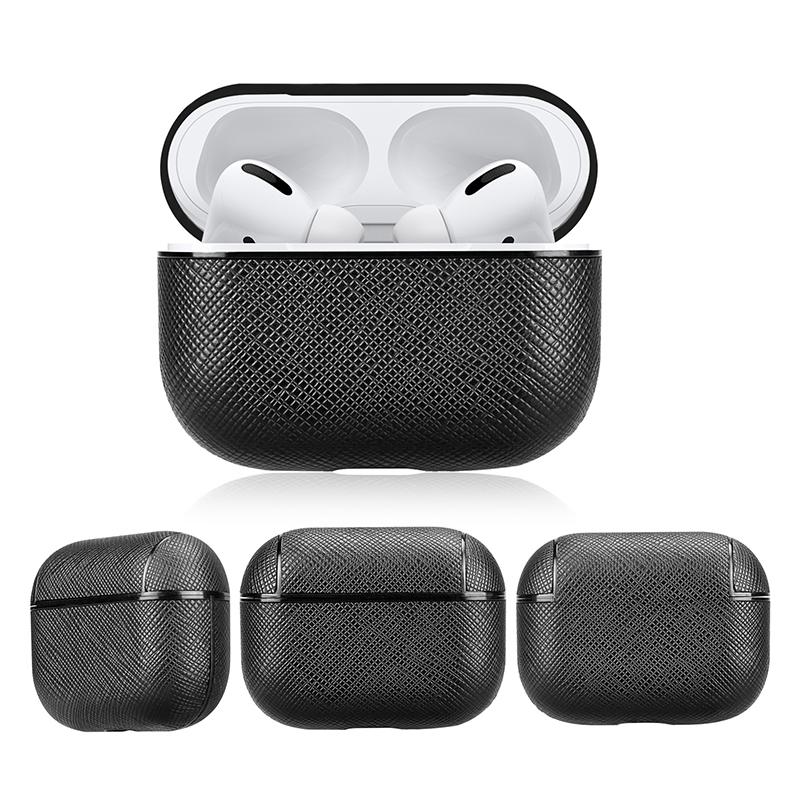 Airpods Pro Case Apple Wireless Bluetooth 3 Generation PU Leather Protection Cover