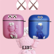 kaws sun flower Apple AirPods1 2 case Bluetooth Pikachu earphone protective cover