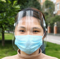 Disposable Safety Face Shield Anti-fog Full Protection Adjustable Shield