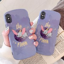 Cartoon Soft Shell Apple iPhone7plus Case Silicone