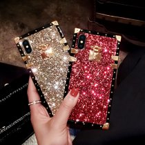 Spangle Shiny Square Phone Case