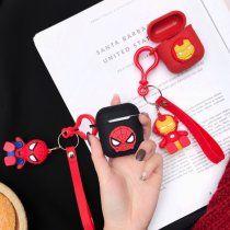 airpods1 / 2 marvel avengers iphone wireless bluetooth silicone case