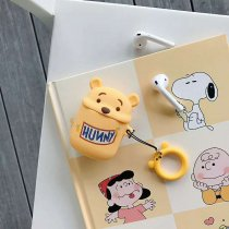 Cartoon Winnie the Pooh AirPods Case Silicon Protective Cover