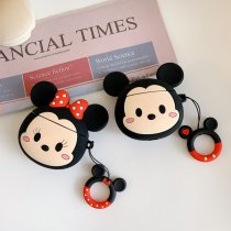 Cartoon Mickey Minnie AirPods Case Bluetooth Wireless Earphone Silicon Protective Cover