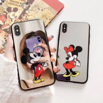 Mirror Mickey Minnie Cell Phone Case