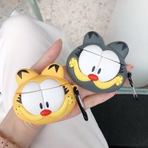 Cute Garfield AirPods Case Earphone Silicon Protective Cover