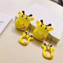 Cartoon Deer AirPods Case Bluetooth Wireless Earphone Protection Cover
