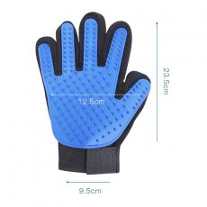 True touch pet gloves brush cat and dog cleaning gloves-- As Seen On TV