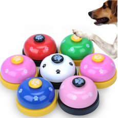 Dog paw print ring bell pet supplies trainer sound ringing bell-- As seen on TV