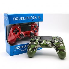 Wireless Bluetooth PS4 Gamepad for Play Station 4 Controller With Double Vibration