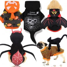 Halloween uniform funny pet clothes autumn and winter