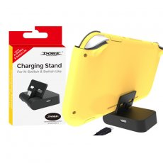 Switch Lite Charging Dock Station Adjustable Bracket Charging Charger Base