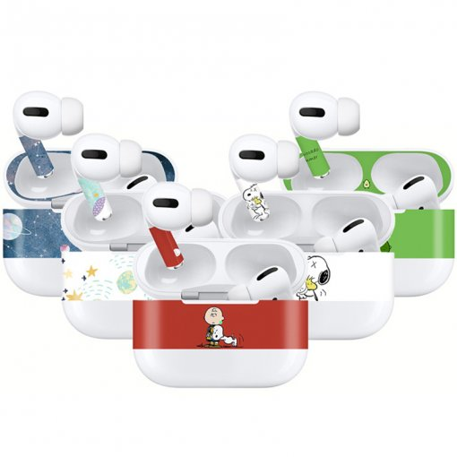 Cartoon creative pattern Airpods Pro sticker case Bluetooth headset sticker