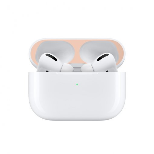 Luxury Airpods Pro sticker Bluetooth headset metal dust film Apple 3 generations