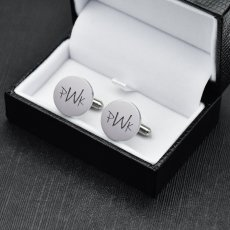 Unique Letter Cufflinks