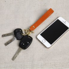 Handcrafted Ultra-Strong Leather Keychain