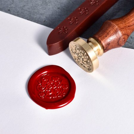 Good Luck Wax Seal Stamp