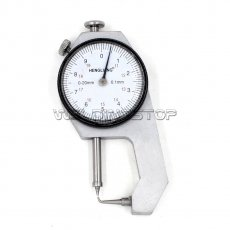 INSPECTION DIAL THICKNESS GAUGE GAGES / 0.1mm X 20mm / Pin shape measure head