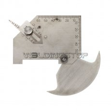 METRIC Bridge CAM welding gauge MG-8 weld Gage inspection WS Genuine