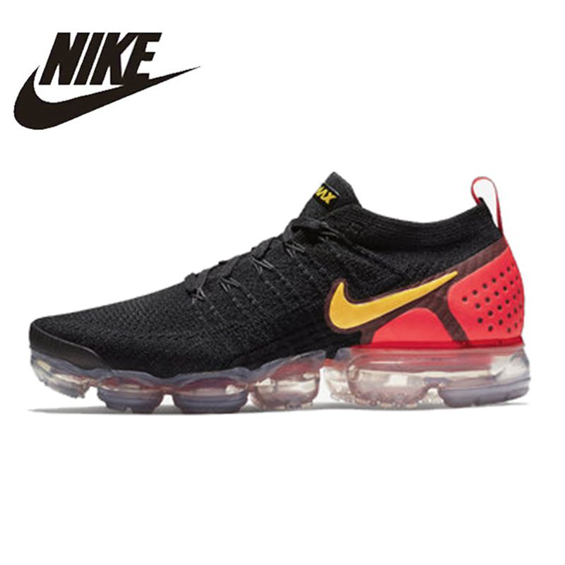 79ec4381f3 Original NIKE AIR VAPORMAX FLYKNIT 2.0 Authentic Mens Running Shoes  Breathable Sport Outdoor Sneakers Durable Athletic 942842-005 Item NO:  942842-005