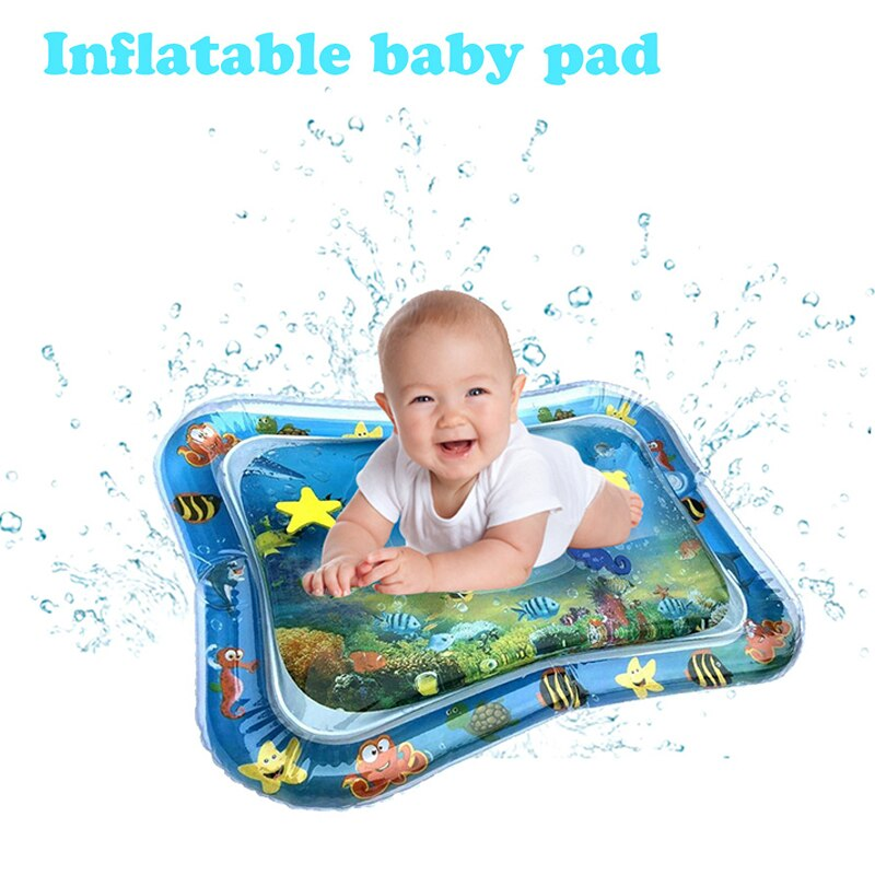 Summer Baby Inflatable Patted Pad Water Cushion Prostrate Water Mat Cushion