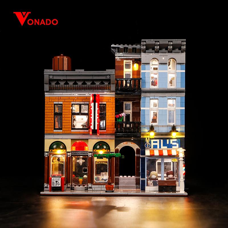LED Light Up Kit For Detective/'s Office LEGO 10246 Creator City Street Lighting