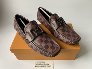 LV Loafer Brown