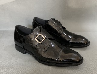 LV Men's Leather Shoes