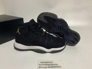 "Authentic Air Jordan 11 PRM Heiress ""Black Stingray"""