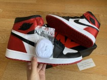 Air Jordan 1 Retro WMNS Satin ''Black Toe''