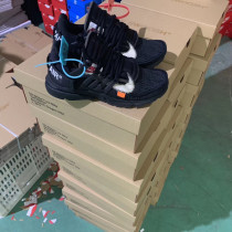 Off White x Nike Air Presto Black Updated