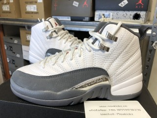 Air Jordan 12 Retro Grey GS