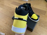 Air Jordan 1 Retro Middle White/Yellow/Black