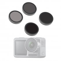 4Pcs Filters ND4-PL ND8-PL ND16-PL ND32-PL Camera Lens for DJI OSMO ACTION