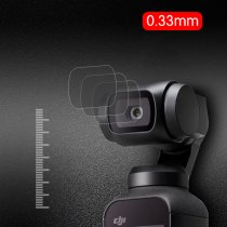 4Pcs Lens Protective Film with Tempered Glass Screen Protector Set for DJI Osmo Pocket Gimbal Camera
