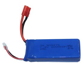 1PC 7.4V 2000mAh Spare Part Battery for Syma X8C X8W X8G X8HW X8HC X8HG RC Quadcopter