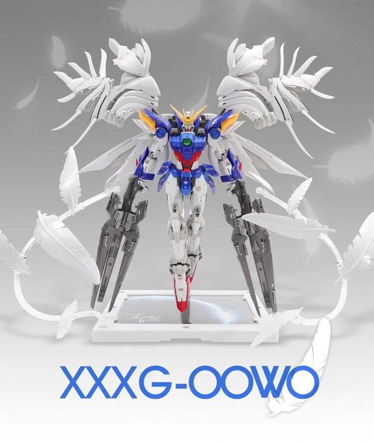 Super Nova MG 1//100 XXXG-00W0 Wing Zero Gundam Mo Kai Custom Purple Model kit