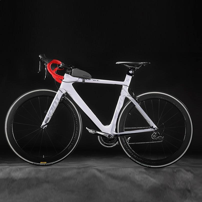 ROCKBROS Waterproof Bike Bag Cycling Top Tube Frame Bag Large Capacity Black